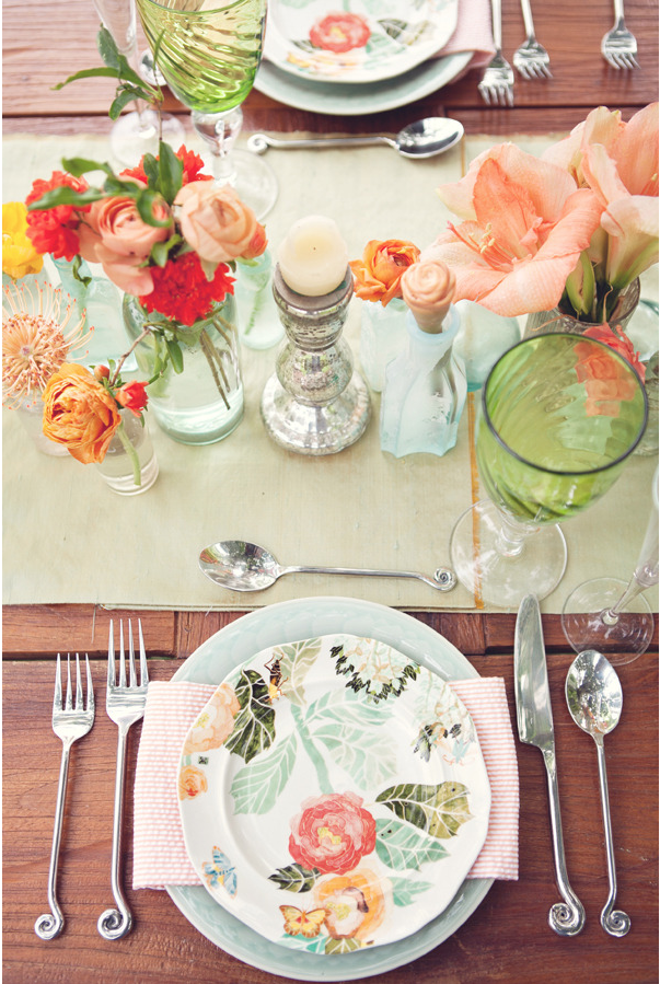 Exceptionnel Spring Table Settings (3)