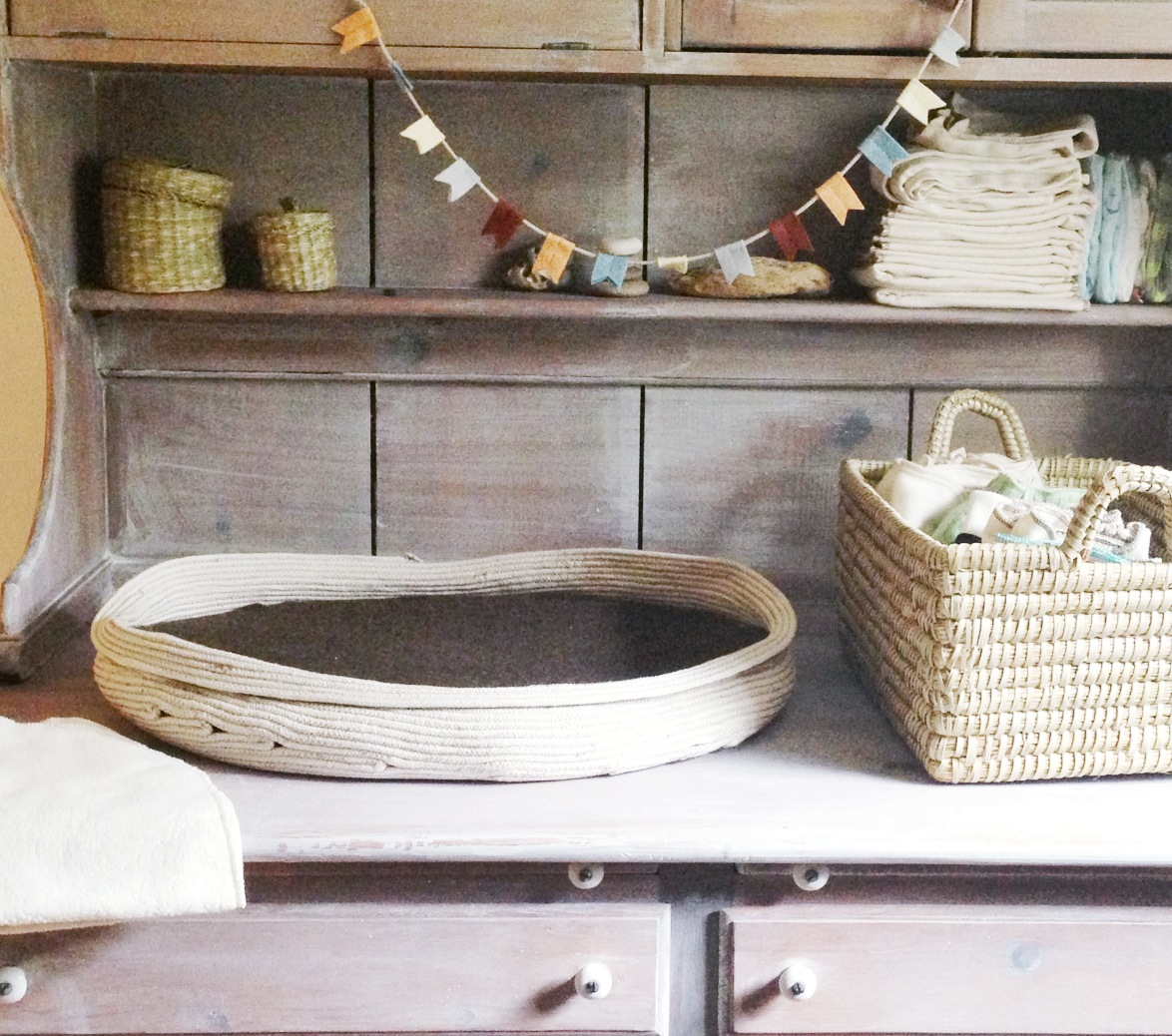 Diy Rope Craft Projects To Do At Home: Tutorial: Make Your Own Rope Basket : Going Home To Roost