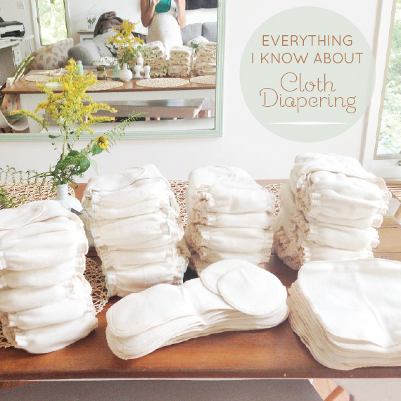 everything i know about cloth diapering