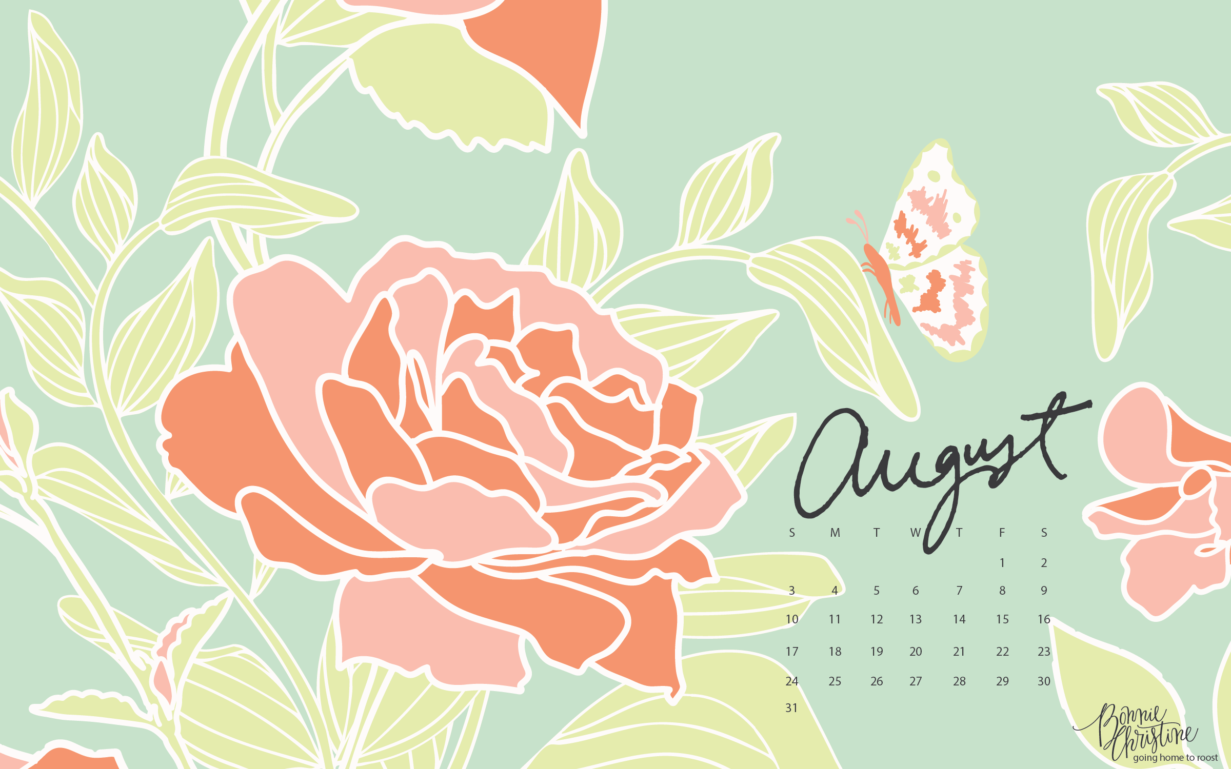 August 2014 Free Wallpapers! | Nicole's Classes