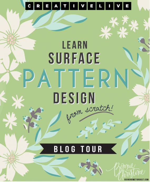 design surface patterns from scratch blog tour!