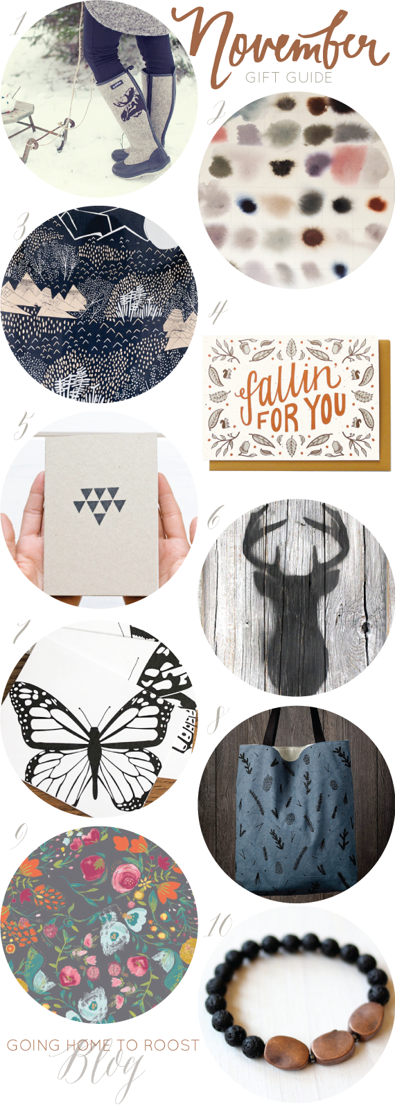 november's gift guide | going home to roost