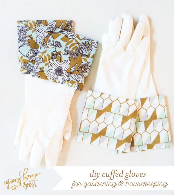 DIY cuffed gloves for gardening & housekeeping (1)