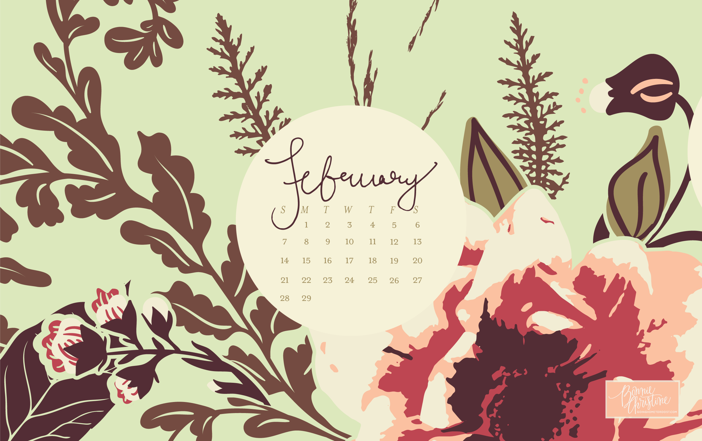 February's Desktop + Smartphone Backgrounds (3)