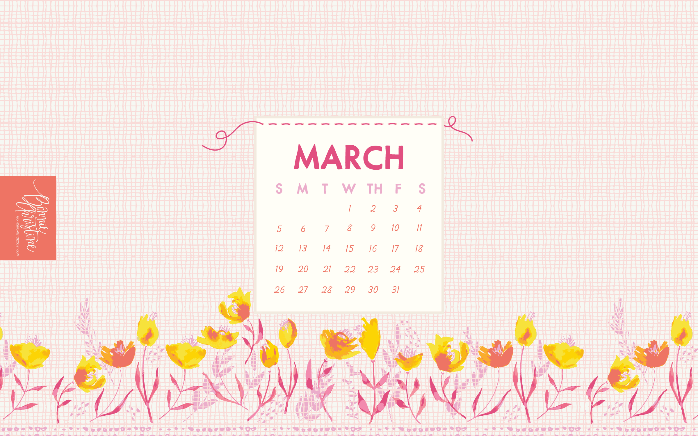 March Desktop Background by Bonnie Christine (7)