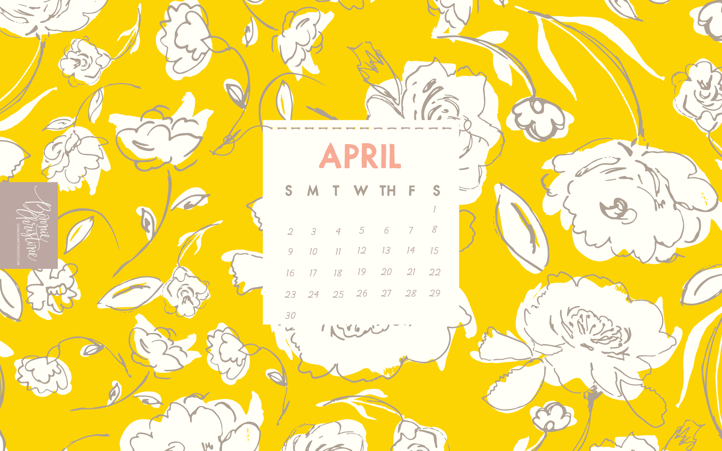 April Calendars 2017 by Bonnie Christine (3)