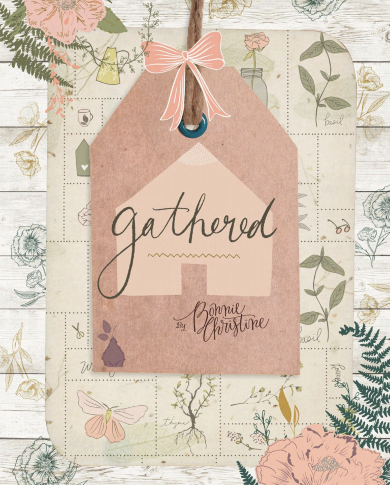 Gathered Fabric Lookbook from Bonnie Christine